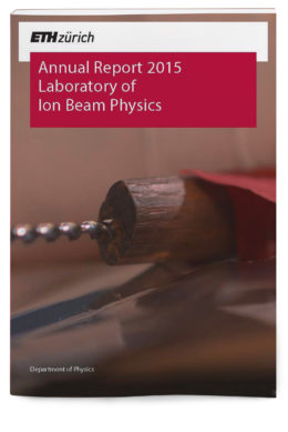 Laboratory of Ion Beam Physics Annual Report 2015